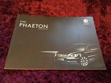 VW Phaeton Brochure 2013 - August 2012 UK issue