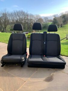 Mercedes Vito 639 Front Seats From 2011 van. Driver and double bench passenger.