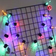 Edison Retro Led Solar Powered 10/20Led Fairy Garden Lights String Outdoor Decor