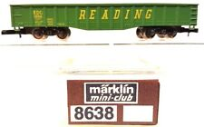 Z Scale Marklin Mini-Club 8638 Reading Gondola LNIB