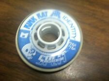 8 New Rink Rat Identity split LE 76mm 76A Indoor roller hockey wheels