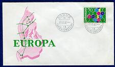 Cover /Liechtenstein enveloppe 1er jour europa 1960 2 scans réf B169