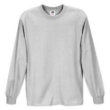 New Long Sleeve Men's Assorted Colour t-shirts Size S- 3XLarge Fruit of The Loom