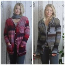 Knitting Pattern Giacca Cardigan Donna e con tasche Sprite DK kingcole 5023