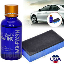 9H Nano Ceramic Car Glass Coating Liquid Hydrophobic AntiScratch Auto Care
