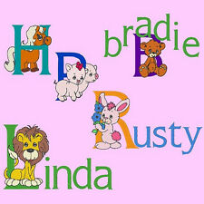 THE ADORABLES 2 - 162 MACHINE EMBROIDERY FONT PACK (AZEB)