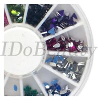 6cm Nail Art Gem Decoration Design Craft For Nails Mixed Shapes Colours Gems