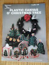 Plastic Canvas O' Christmas Tree Patterns #139 Needlecraft Ala Mode 1990