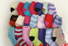 Wholesale BULK 12 Pairs Winter Bed Socks Size 2-8 Thermal Cozy