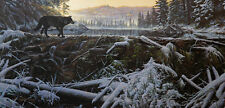 """Stephen Lyman, """"The Crossing"""",  S/N LE Lithograph"""