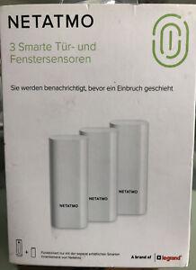 NETATMO DTG01 *NEU* DTG-DE SMARTE TÜR- U. FENSTERSENSOREN 3er Pack OVP