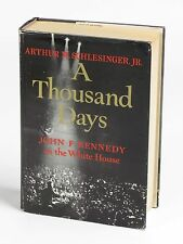A Thousand Days: John F Kennedy in the White House 1965 1st Ed HC Book DJ