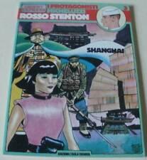 MICHELUZZI: ROSSO STENTON 'SHANGHAI' (GLI ALBI DI ORIENT EXPRESS 3)