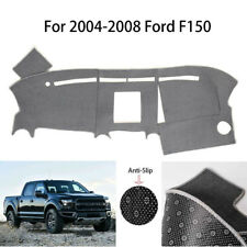 Anti-Slip Gray Dashboard Cover Dashmat Carpet Fit For 2004-2008 Ford F150 TRUCK