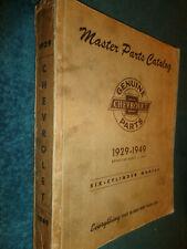 1929 1949 Chevrolet Car Amp Truck Parts Book Catalog Manual Original 48 47 46