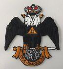 33rd Degree Freemason Masonic Master Mason Iron on Patch for sale