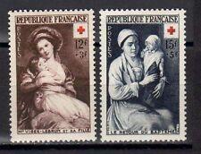 FRANCE FRANCIA 1953 Au Profit de la Croix-Rouge MNH**