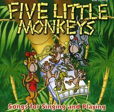 Various Artists : Five Little Monkeys Children's 1 Disc CD