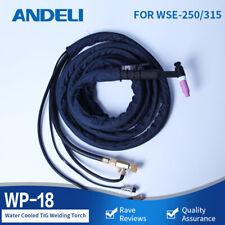 Andeli Water Cooled Torch Tig Torch Welding Gun Wp 18 4m For Tig Welding Machine