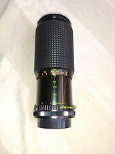 Vintage Camera Lens OSAWA 1:4.5 70-200 MM Macro w lens covers