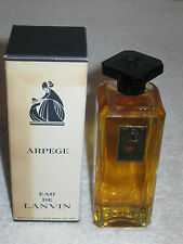 "Vintage Jeanne Lanvin Arpege Perfume Bottle/Box 4 OZ  Sealed/Full - 5"" Height"