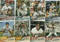 2020 Topps Series 1 DECADES' BEST Complete 100-Card Insert SET Trout-Ryan-Ripken