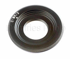 Quality C Mount Movie / Film Lens to M4/3 Micro Four Thirds Mount Adapter