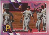 2021 Topps Series 1 PITTSBURGH PIRATES TEAM CARD Rainbow Foil Parallel #251