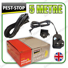Ps-upk Universal Power supply/adapter Kit Para Exteriores Ultrasonic Pest Repeler