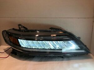 HONDA ACCORD COUPE RH PASSENGER LED HEADLIGHT 16 17 2016 2017 OEM
