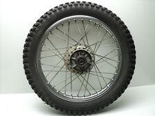 Suzuki TC185 TC 185 #4236 Chrome Rear Wheel & Tire