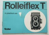 Rollei Rolleiflex  In Practical Use Camera Instruction Book / Manual (Blue) USED