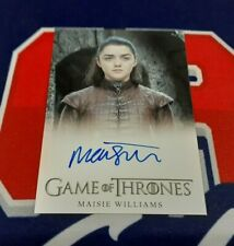 2020 The Complete Game of Thrones Maisie Williams FB Autograph