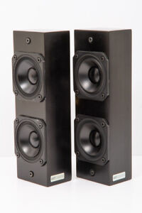 Artcoustic Modular One left and right satellite speakers