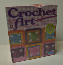 4M Arts and Crafts CROCHET ART Kit NEW SEALED