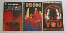 Superman Red Son #1-3 Complete Set High Grade NM 1st Print DC Comics 2003