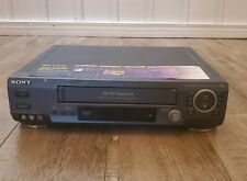 New ListingSony Slv-Ax20 Vhs Vcr Player Recorder Tested Working Vintage Recorder Black