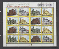 Philippine Stamps 2018 Heritage Churches Sheetlet MNH