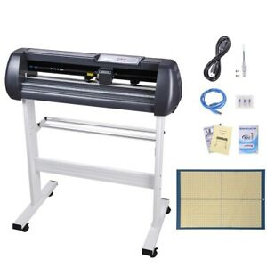 "28"" LCD Vinyl Cutter Sign Plotter Cutting w/ Signmaster Basic Software 3 Blades"