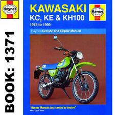 Kawasaki Motorcycle Repair Manuals & Literature 1975