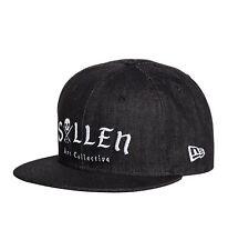 Sullen Clothing Midnight Denim Black Tattoo Artist Ink Snapback Hat SCA1610