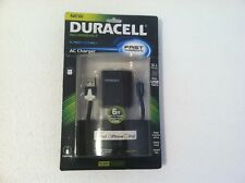 NEW Duracell 3.1 Amp Dual Car Charger LIGHTNING Connector iPhone iPod iPad