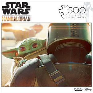 Disney STAR WARS The Mandalorian Baby Yoda 500 Piece Jigsaw Puzzle Sealed