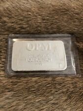OPM ( 1 ) One Troy Ounce Silver Bar