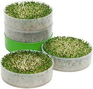 """Kitchen Crop VKP1200 Deluxe Kitchen Seed Sprouter,   6"""" Diameter Trays"""