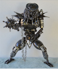 Metal Sculpture Predator 12 Inches with MAZE, BALL & CHAIN