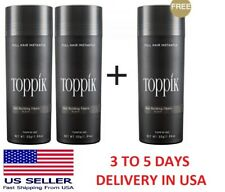 Toppik Hair Building Fibers 27.5G Dark Brown, Medium Brown, Black or Light Brown