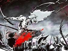 MANGA ANIME AFRO SAMURAI 2 SWORD BLOOD ACTION 18X24'' POSTER ART PRINT LV10026