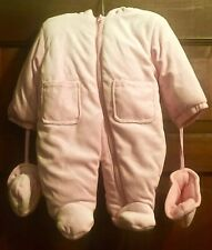 Infant Girl Snowsuit by Sweet and Soft - size 3-6 months