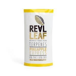 Real Leaf Tabakersatz Pineapple Express Nikotinfreie Kräuter Knaster Inhalt:20g